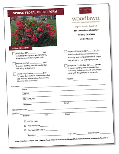 Woodlawn Floral Tributes spring